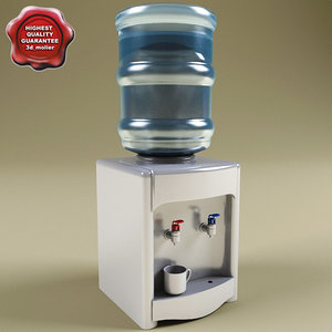 3ds water cooler
