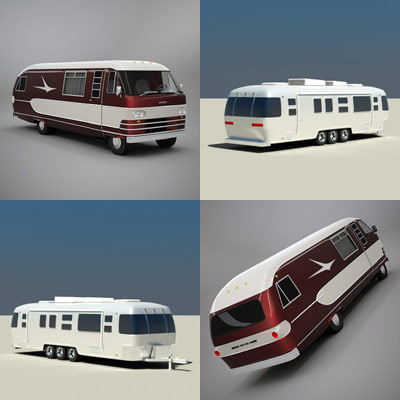 3ds max classic caravan travco
