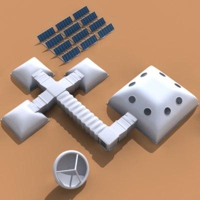 3d model spatial base