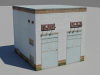 3d transforme substation