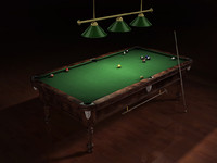 pool table 3d lwo