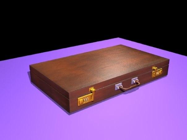 briefcase 3d 3ds