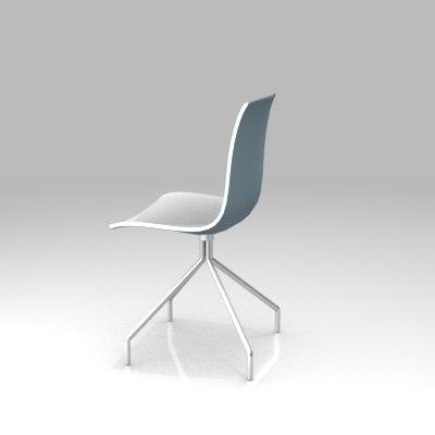 catifa chair 3d 3ds