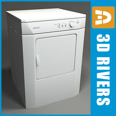 dryer electronic shop 3d 3ds