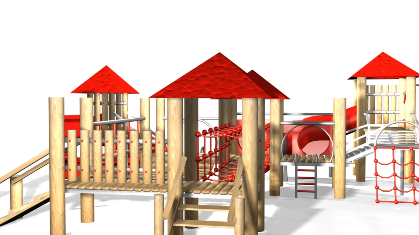 3d max jungle gym