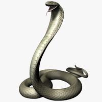 king cobra 3d max