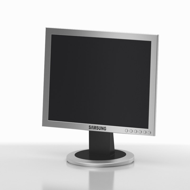 monitor 03 3d 3ds