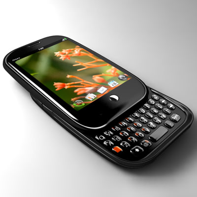 palm pre mobile phone 3d model