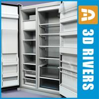 refrigerator 02 3d max