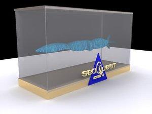 seaquest submarine 3d model
