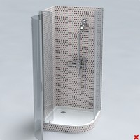 3d shower cabin
