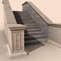 3d perron stair roman