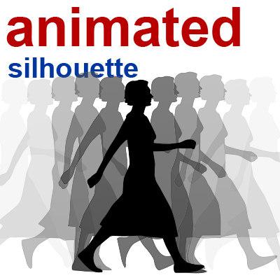 maya silhouette woman