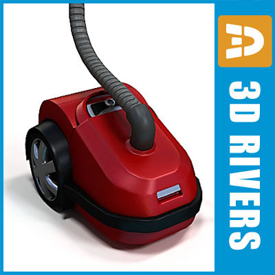 vacuum cleaner 3d model