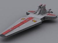 venator class 3d model