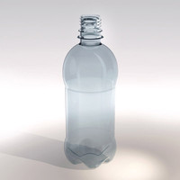 0.5 (1/2) Liter Spring Water Bottle