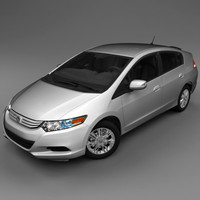 3d model 2010 honda insight