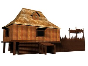 3d model fortress war revolutionary