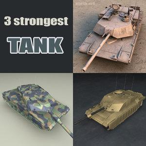 strongest tanks 3d model