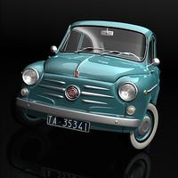 1959 Fiat 600D