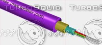 optical cable dq-line tight 3d model