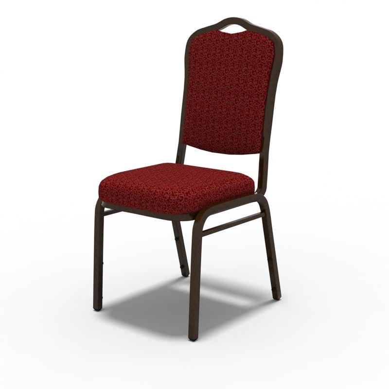 3d Model Banquet Chair   Banquet Chair 3D Models TurboSquid.com