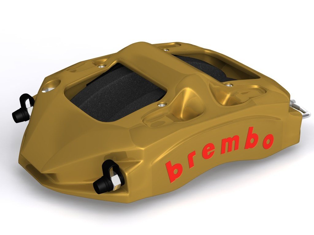 brembo brake caliper 3d model