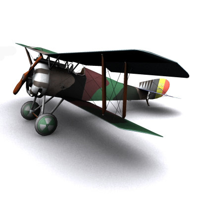 max hanriot hd1 ww1 biplane