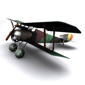 max hanriot hd1 ww1 biplane
