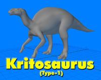 kritosaurus type-1 3d model