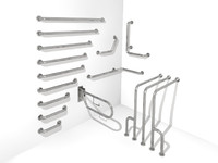 handicap rail systems 3d max