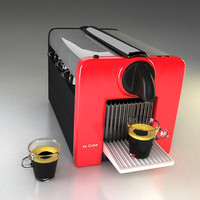 nespresso le cube coffee maker 3ds