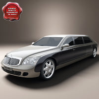Maybach 62S Limo