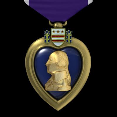 max purple heart medal