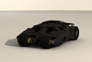 heavy car 3d model