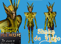 3ds shaka virgo saint seiya