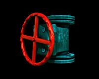 water pipe valve 3d model