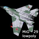 Aircraft MiG-29 Fulcrum