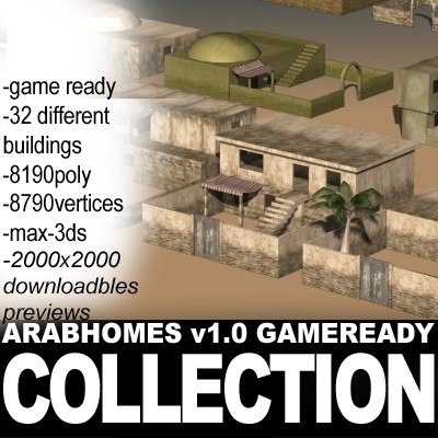3ds max houses games homes