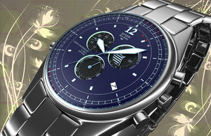3ds max luxury watch