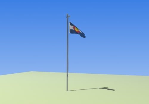 cloth modifier flag max