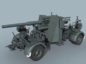 3ds german wwii flak 36