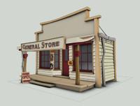 west general store 3d model
