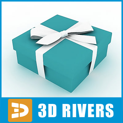 gift wrap 3d max
