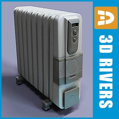 heater electronic shop 3d obj