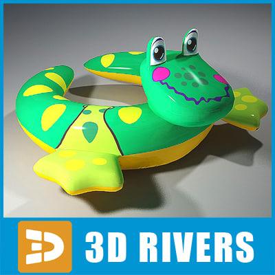 max inflatable swim ring