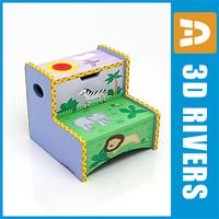 Kids box seat 04 by 3DRivers
