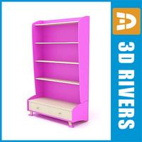 Kids cupboard 01 by 3DRivers