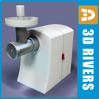 3d meat grinder