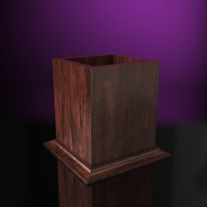 pencil holder scale - 3d model